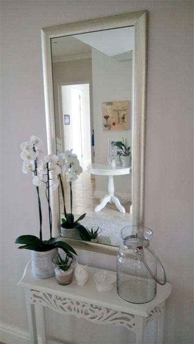 Entrance hall mirror