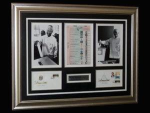 Memorbilia frame